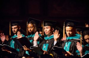 Click to view a slideshow of Graduate Nursing and Optometry Commencement