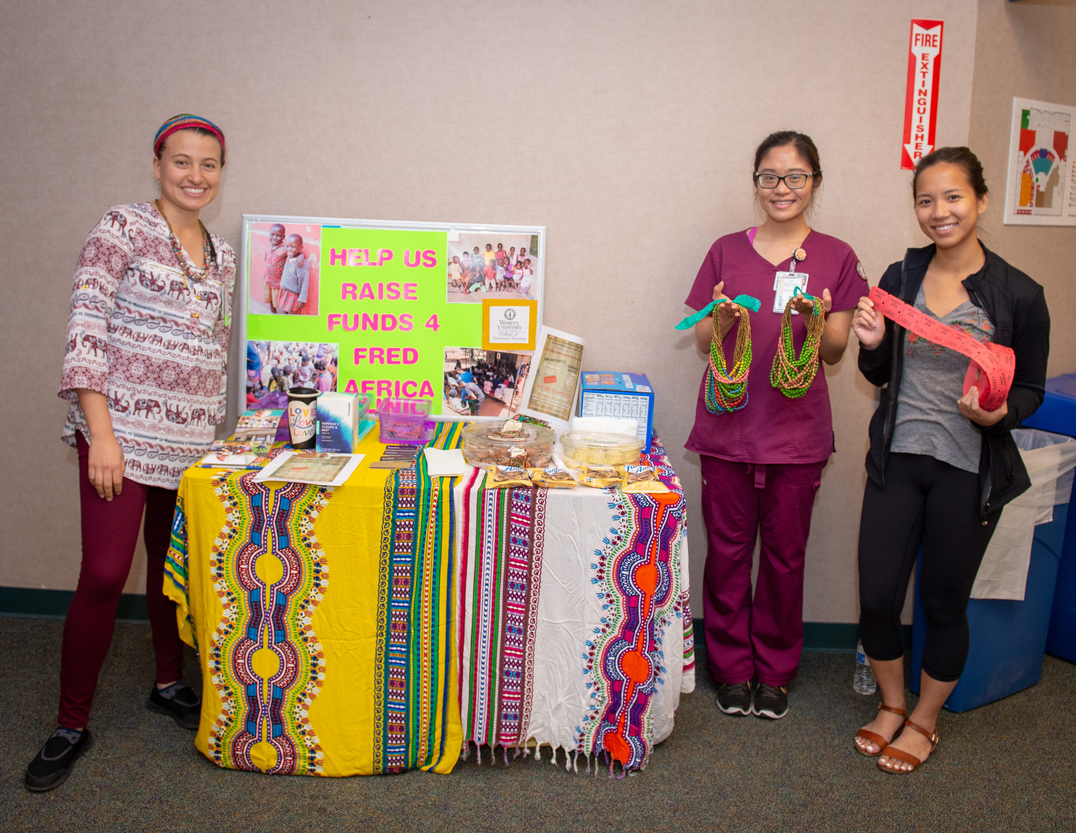 Nursing students raising funds to host a mobile medical clinic in Africa