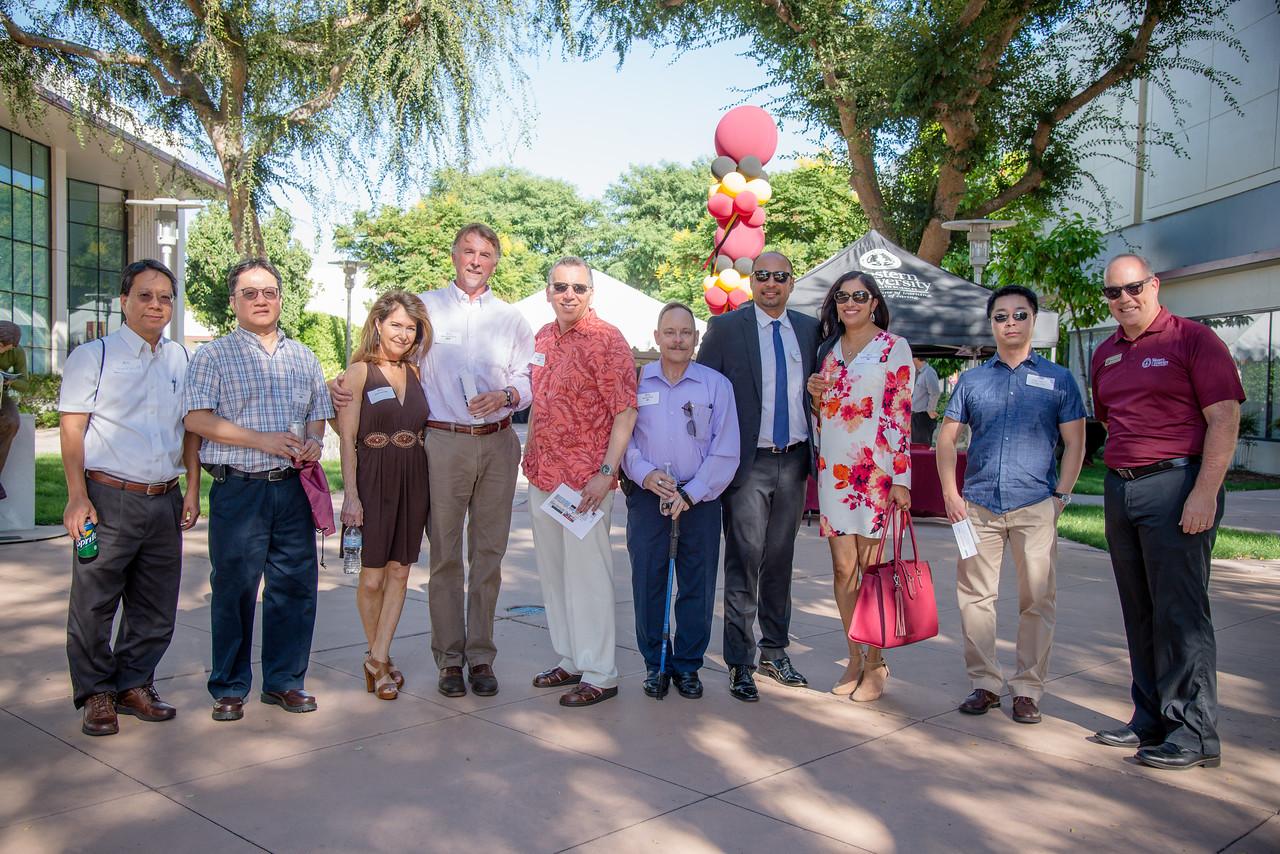 The inaugural WesternU Alumni Reunion was held on the pomona campus Saturday, Sept. 15, 2018. #WesternURenion2018 #WesternUWay (Jeff Malet, WesternU)