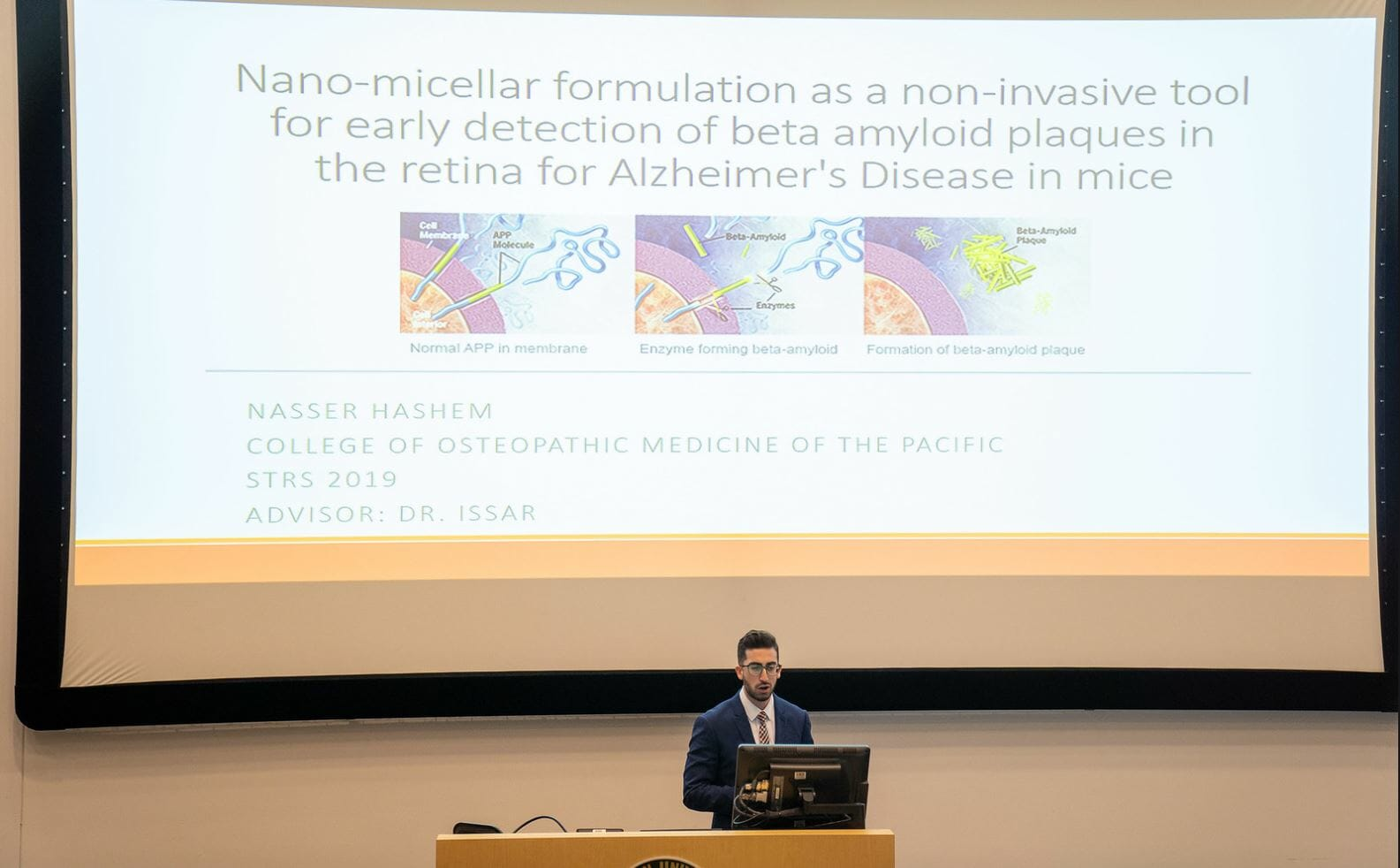 WESTERNU STUDENTS PRESENT RESEARCH AT SYMPOSIUM