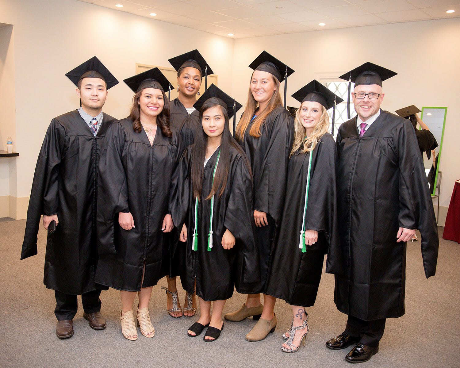 College of Allied Health Professions and the College of Podiatric Medicine Commencement ceremony was held May 23, 2018.