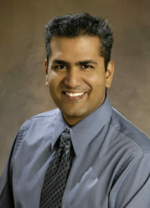 WesternU College of Optometry Professor Pinakin Gunvant Davey, PhD, OD, FAAO