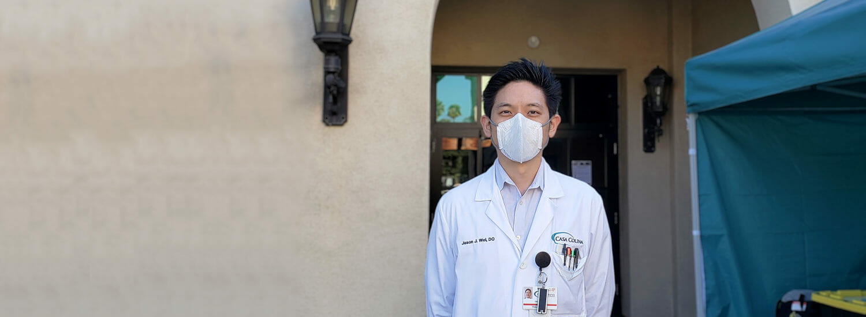 COMP Alumnus Helps Build N95 Mask Decontamination Center
