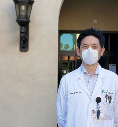COMP Alumnus Helps Build N95 Mask Decontamination Center