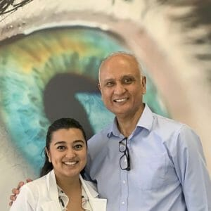 College Of Optometry Supporter and Donor Dr. Ed Hernandez Hires Alumna