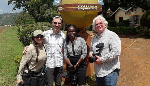 WesternU employees get a once-in-a-lifetime opportunity to be on production crew for documentary in Africa