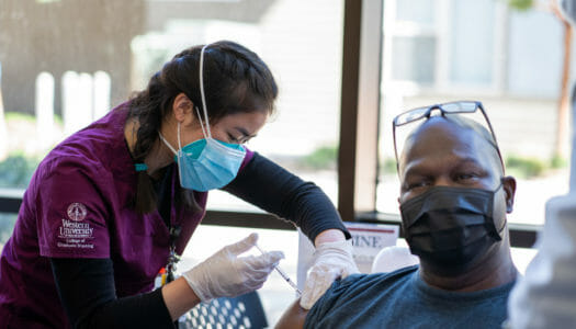 WesternU Health Vaccine Clinic earns rave reviews