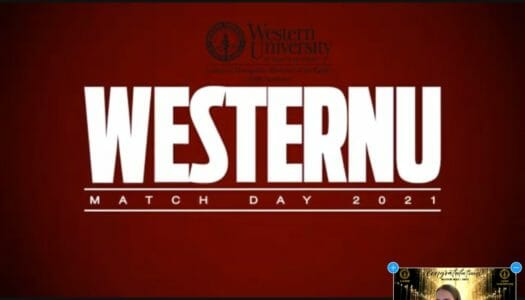 WesternU osteopathic medical students celebrate Match Day