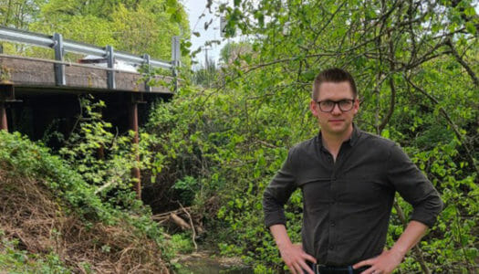WesternU COMP-Northwest student helps rescue people who crashed into a creek