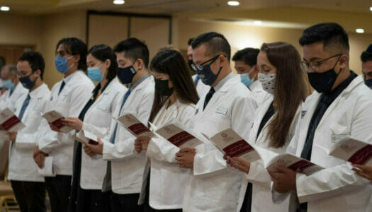 WesternU welcomes 1,100 students into the health professions